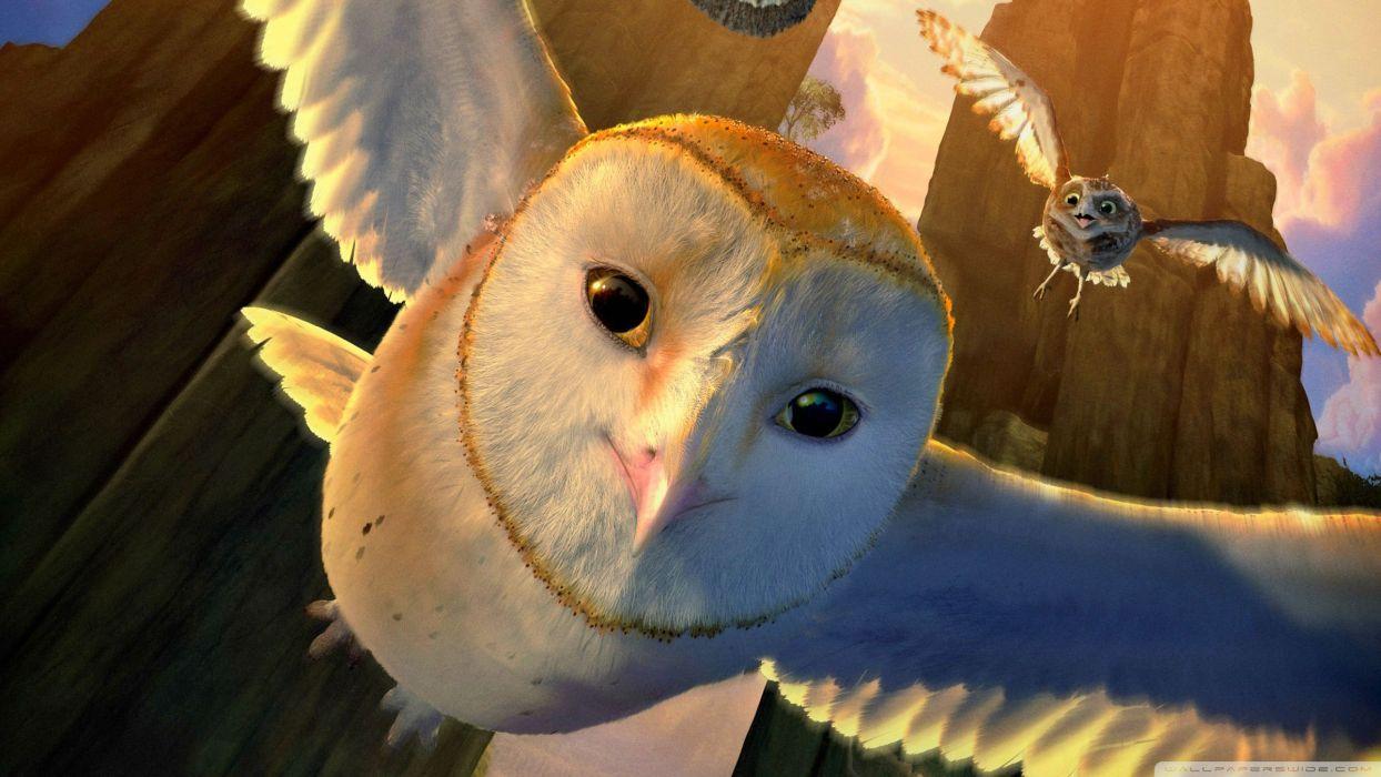 LEGENDS GUARDIANS OWLS GAHOOLE animation fantasy adventure family cartoon hoole owl (1) wallpaper