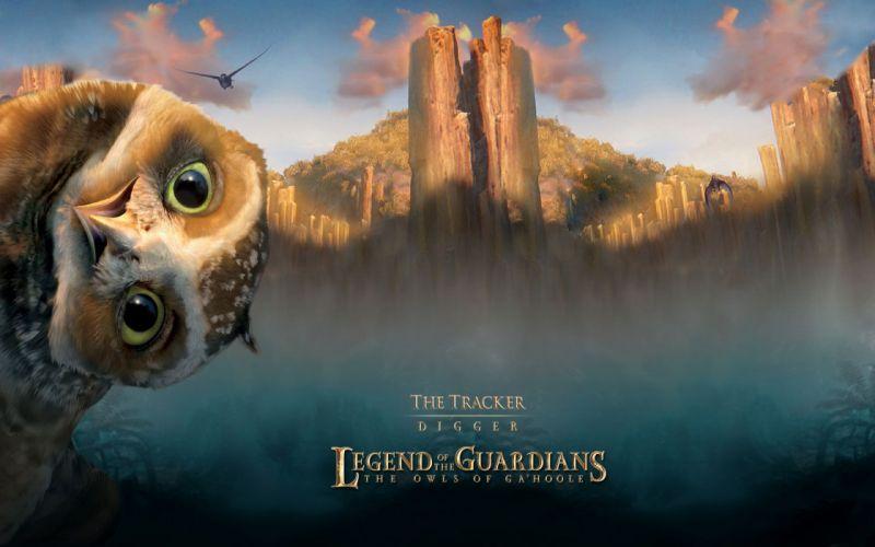 LEGEND GUARDIANS OWLS GAHOOLE animation fantasy adventure family cartoon hoole owl (19) wallpaper