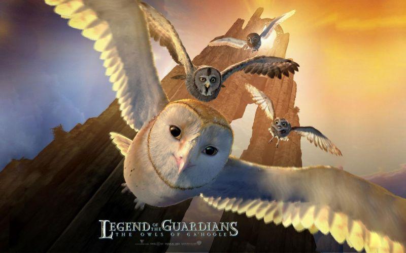 LEGEND GUARDIANS OWLS GAHOOLE animation fantasy adventure family cartoon hoole owl (37) wallpaper