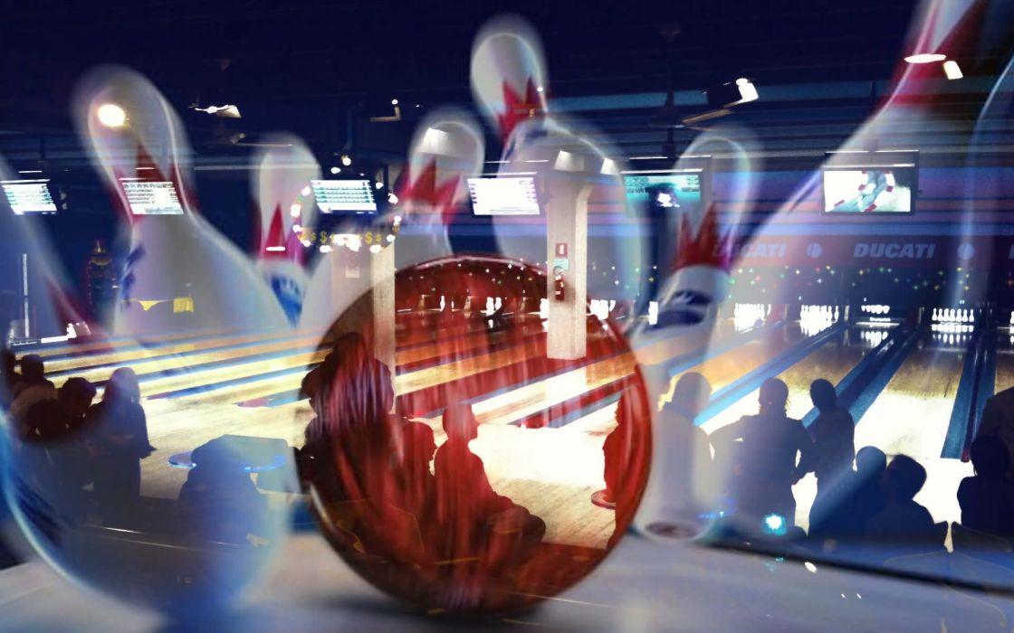 BOWLING ball game classic bowl sport sports (24) wallpaper
