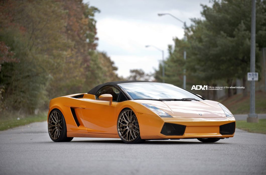 LAMBORGHINI-GALLARDO-SPIDER wallpaper