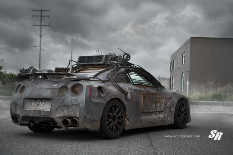 Nissan-GTR-MOVIE wallpaper