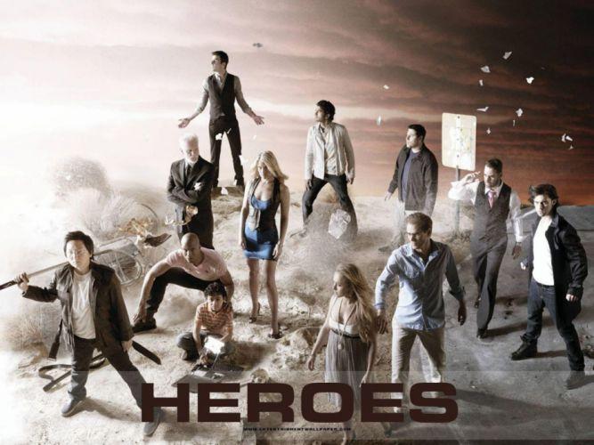 HEROES sci-fi drama thriller series superhero (1) wallpaper