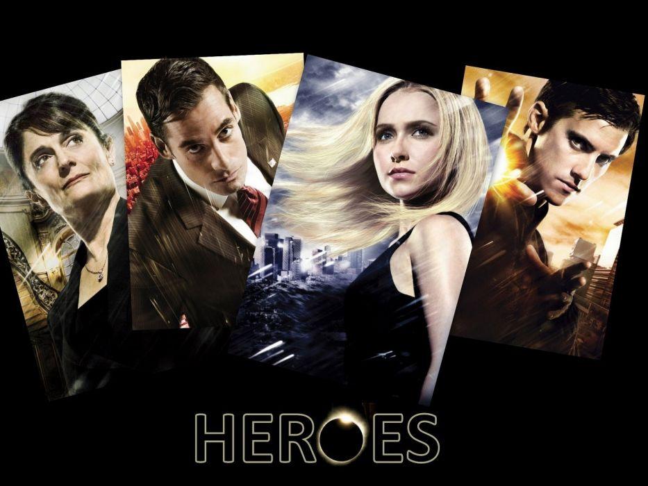 HEROES sci-fi drama thriller series superhero (5) wallpaper