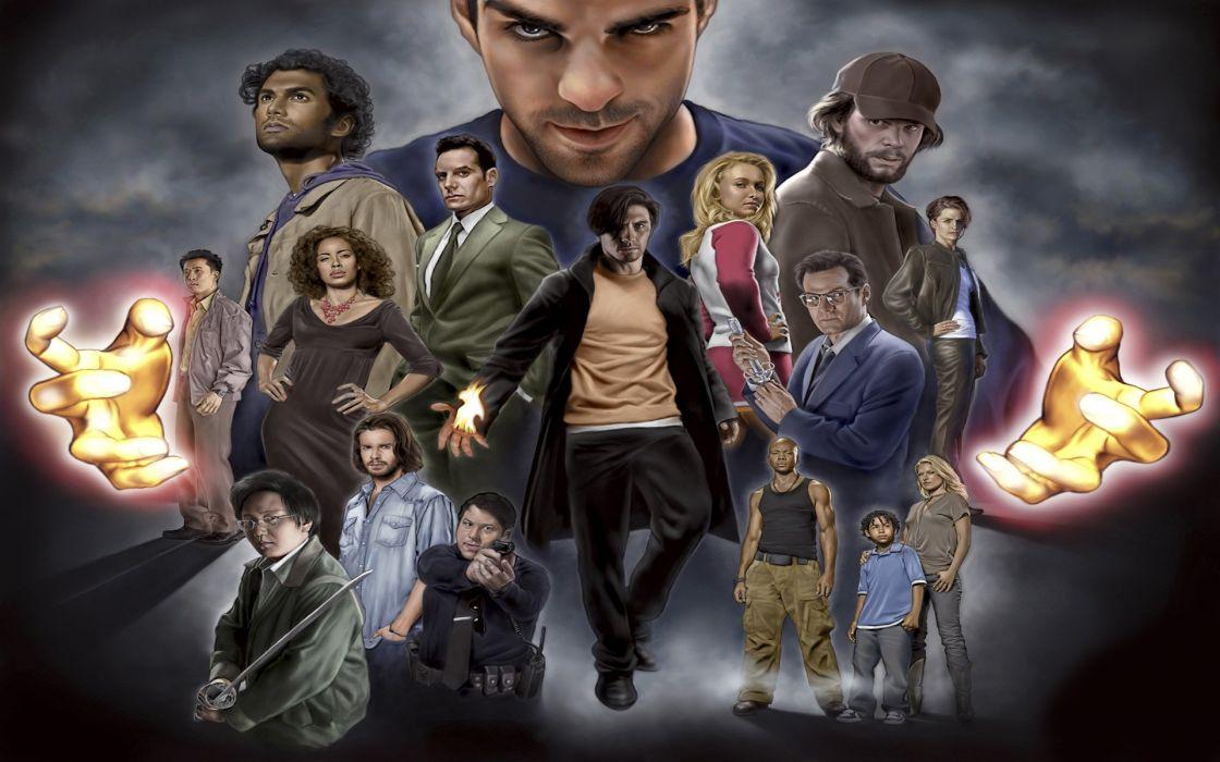 HEROES sci-fi drama thriller series superhero (20) wallpaper