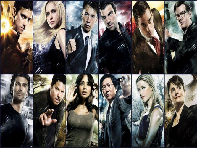 HEROES sci-fi drama thriller series superhero (24) wallpaper