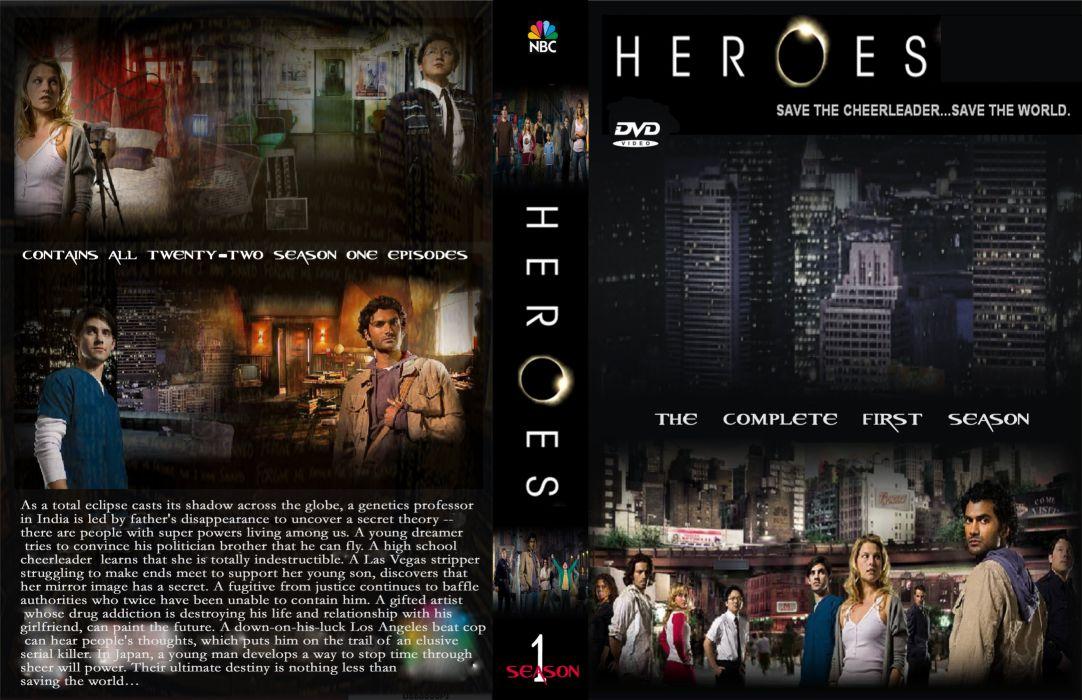 HEROES sci-fi drama thriller series superhero (39) wallpaper
