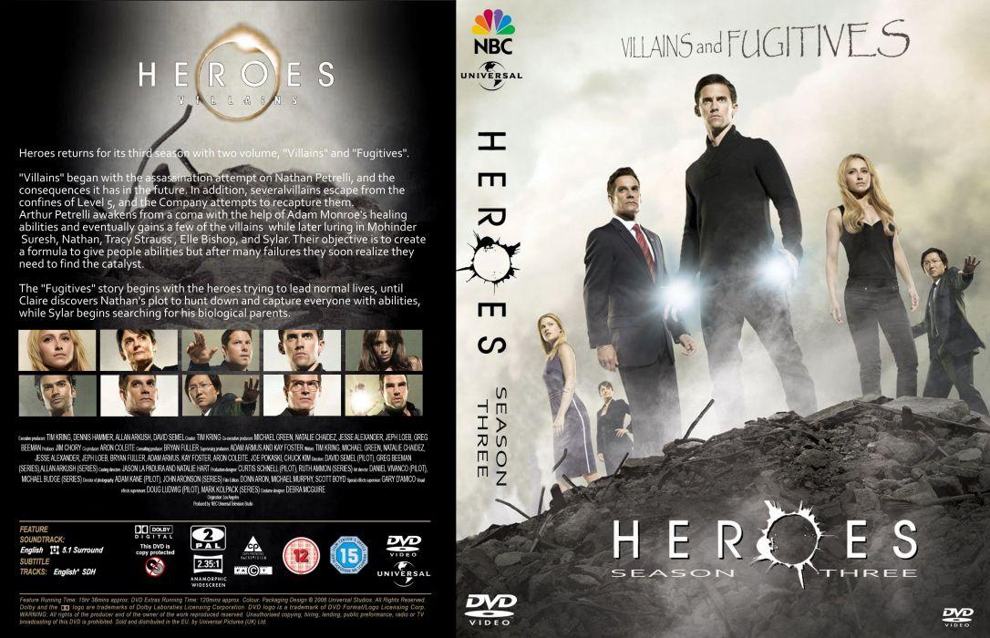 HEROES sci-fi drama thriller series superhero (44) wallpaper
