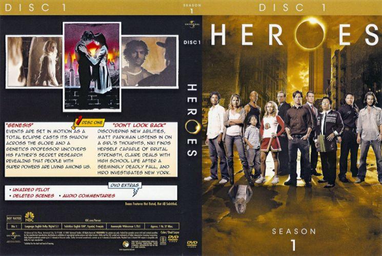 HEROES sci-fi drama thriller series superhero (41) wallpaper