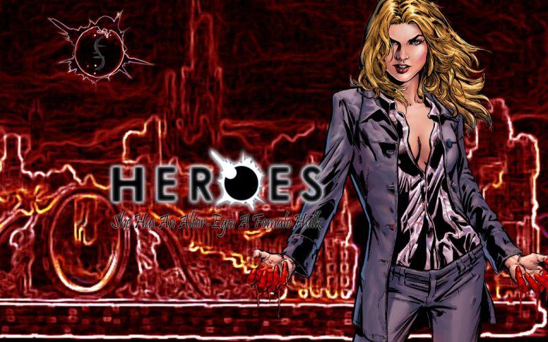 HEROES sci-fi drama thriller series superhero (47) wallpaper
