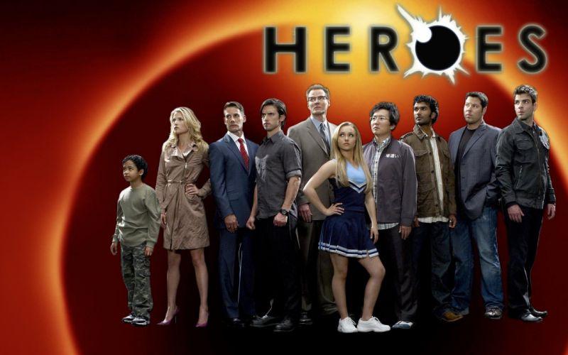 HEROES sci-fi drama thriller series superhero (65) wallpaper