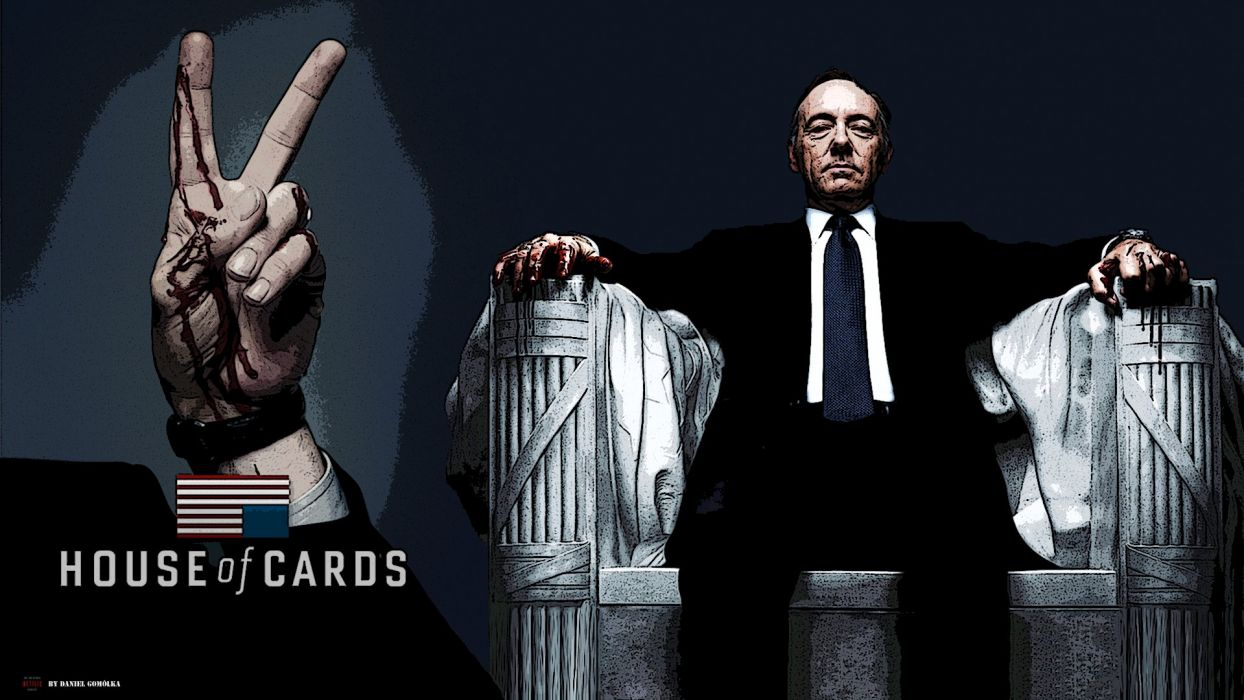 HOUSE OF CARDS political drama series (3) wallpaper