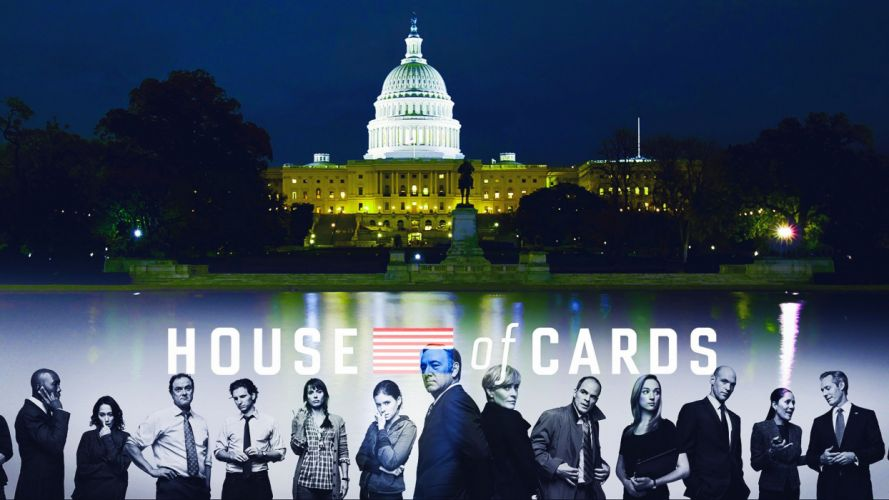 HOUSE OF CARDS political drama series (31) wallpaper
