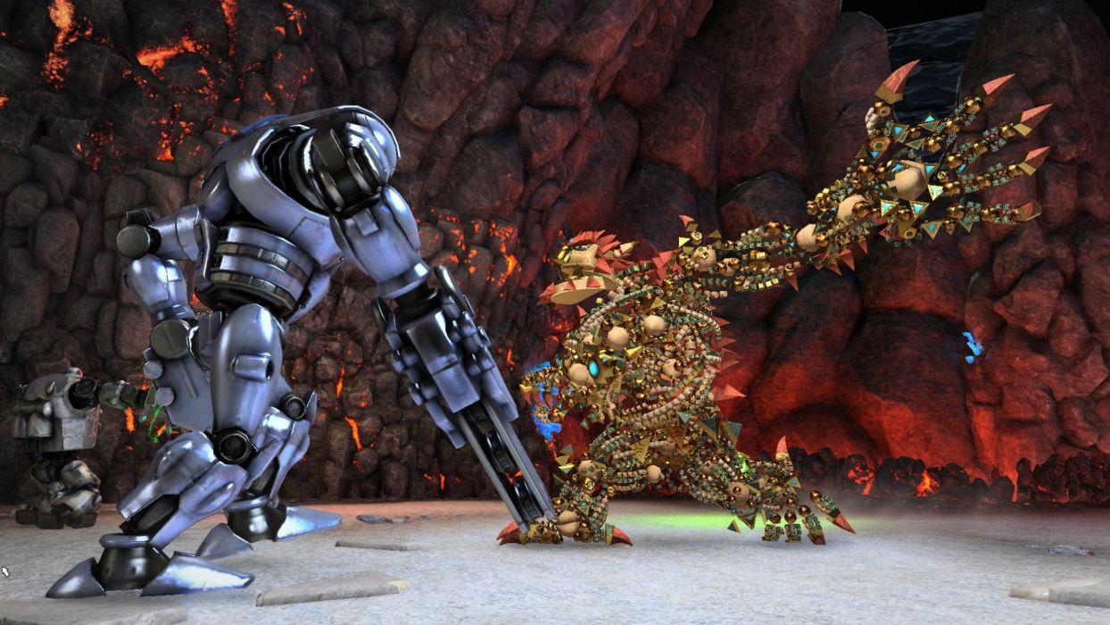 KNACK action platform fighting fight warrior adventure fantasy (2) wallpaper