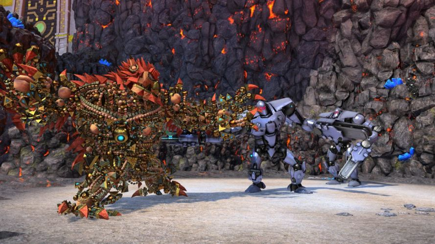 KNACK action platform fighting fight warrior adventure fantasy (9) wallpaper