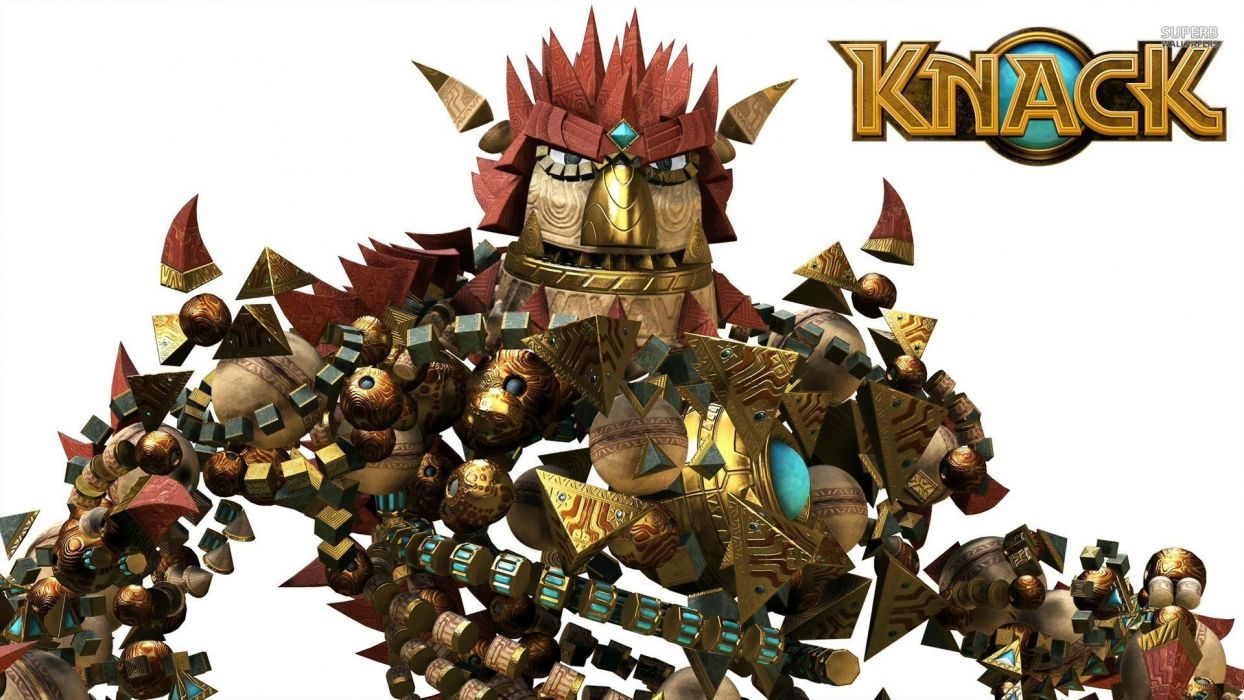 KNACK action platform fighting fight warrior adventure fantasy (13) wallpaper