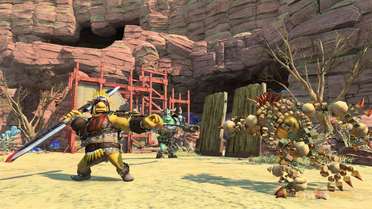 KNACK action platform fighting fight warrior adventure fantasy (35) wallpaper