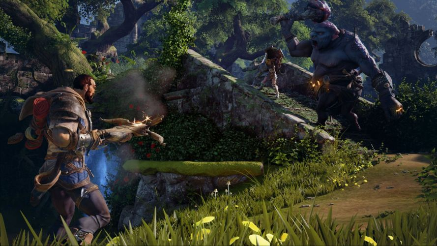 FABLE LEGENDS rpg fantasy adventure action fighting mmo online (8) wallpaper