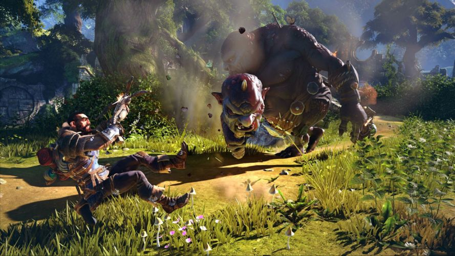 FABLE LEGENDS rpg fantasy adventure action fighting mmo online (9) wallpaper