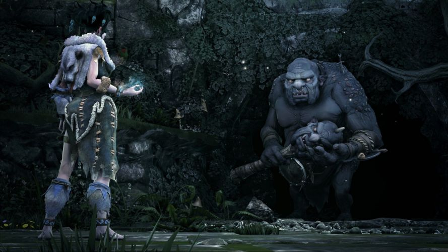 FABLE LEGENDS rpg fantasy adventure action fighting mmo online (16) wallpaper