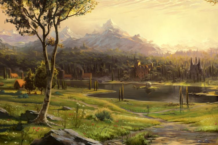 FABLE LEGENDS rpg fantasy adventure action fighting mmo online (17) wallpaper