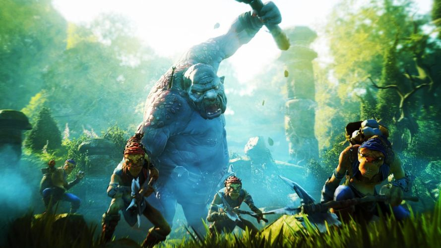 FABLE LEGENDS rpg fantasy adventure action fighting mmo online (23) wallpaper