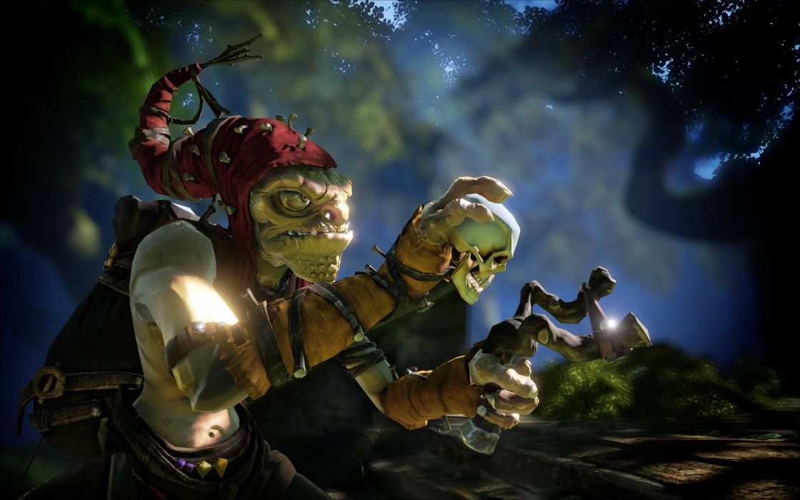 FABLE LEGENDS rpg fantasy adventure action fighting mmo online (28) wallpaper