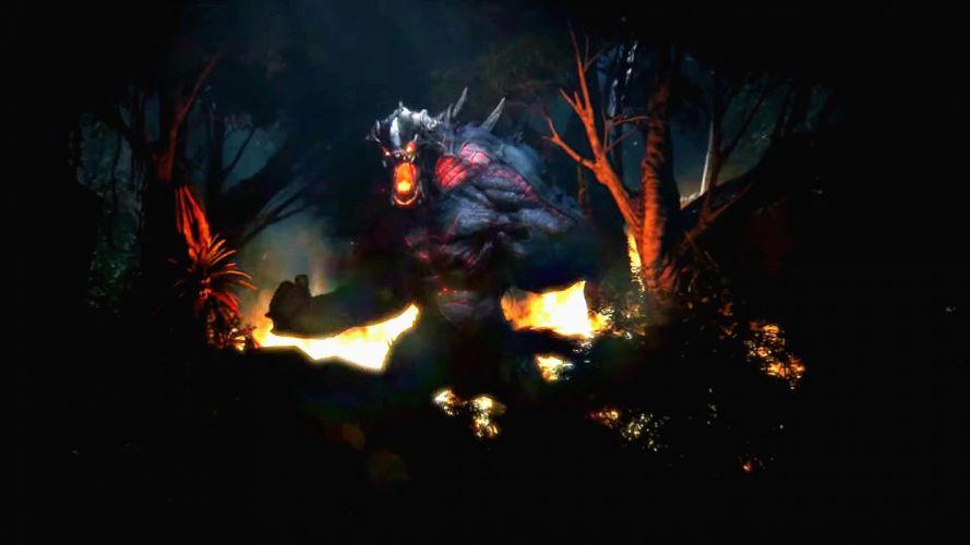 EVOLVE co-op shooter sci-fi fantasy fighting (34) wallpaper