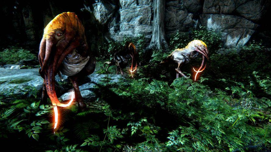 EVOLVE co-op shooter sci-fi fantasy fighting (37) wallpaper