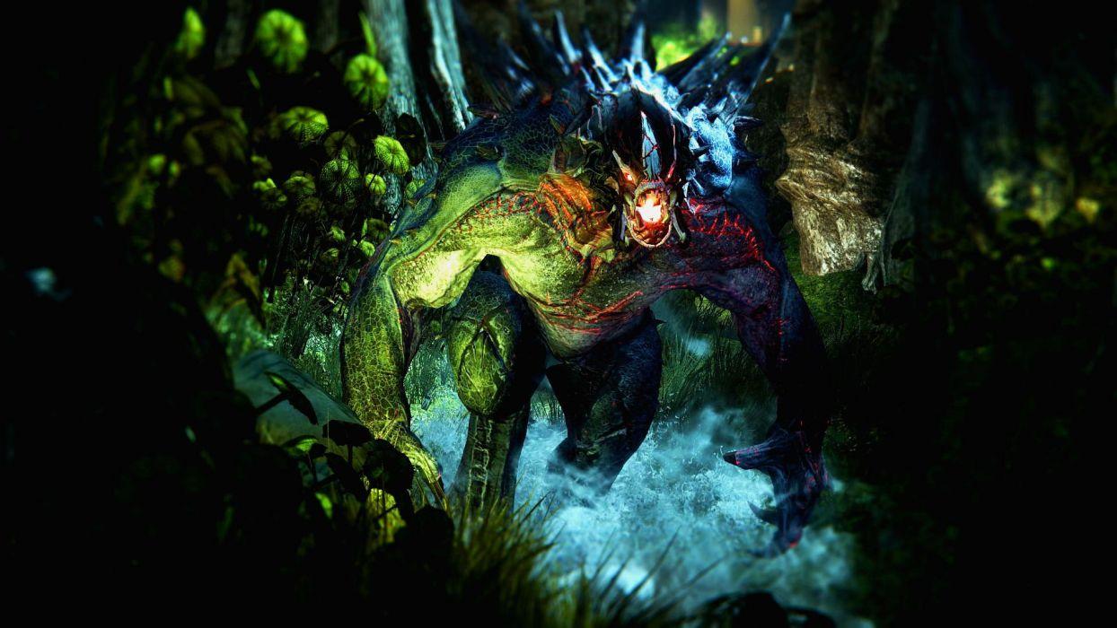 EVOLVE co-op shooter sci-fi fantasy fighting (41) wallpaper