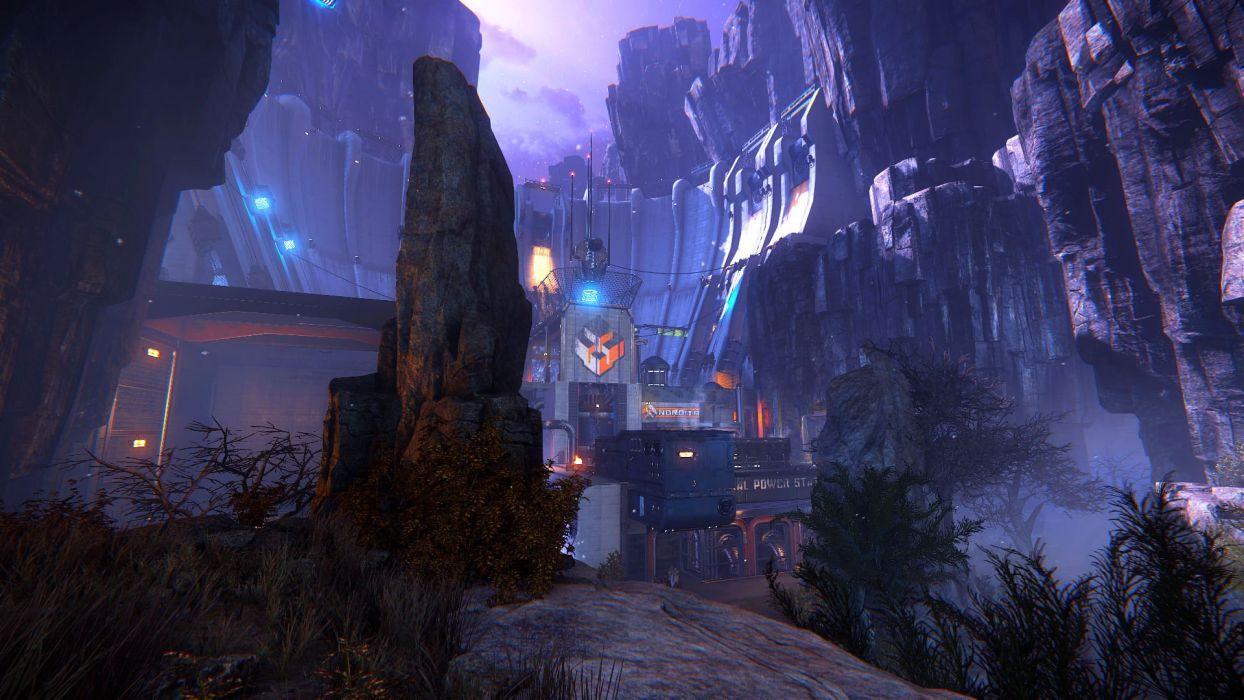 EVOLVE co-op shooter sci-fi fantasy fighting (45) wallpaper