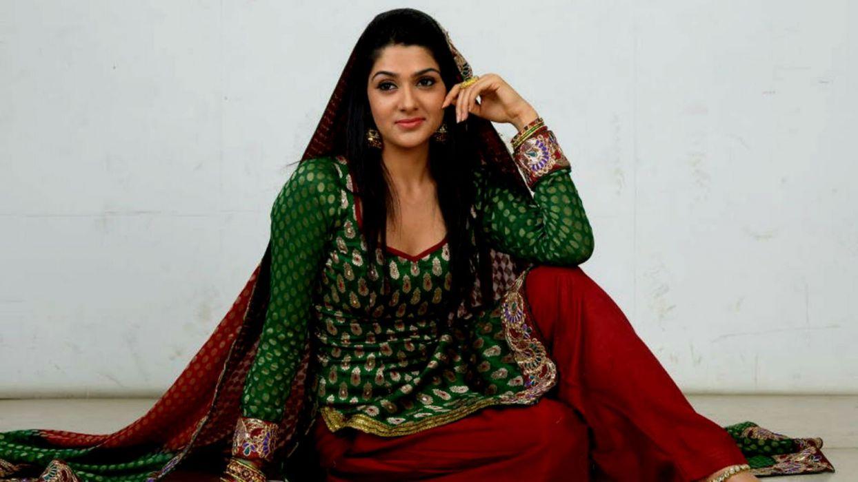 SAKSHI CHOUDHARY bollywood actress model babe (1) wallpaper