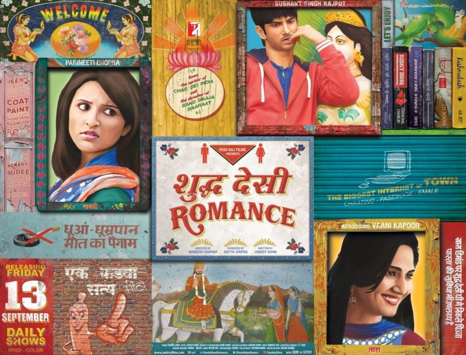 SHUDDH DESI ROMANCE comedy bollywood drama (26) wallpaper