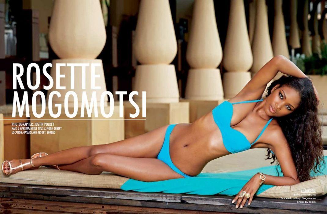 ROSETTE MOGOMOTSI supermodel model babe fashion bikini sexy wallpaper