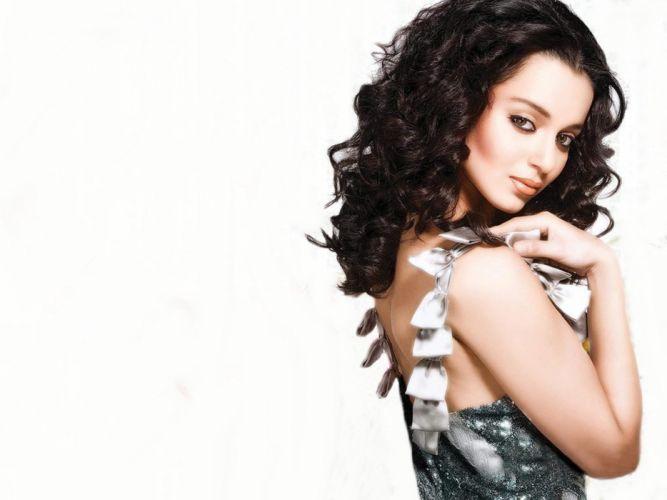 KANGANA RANAUT bollywood actress model babe (4) wallpaper