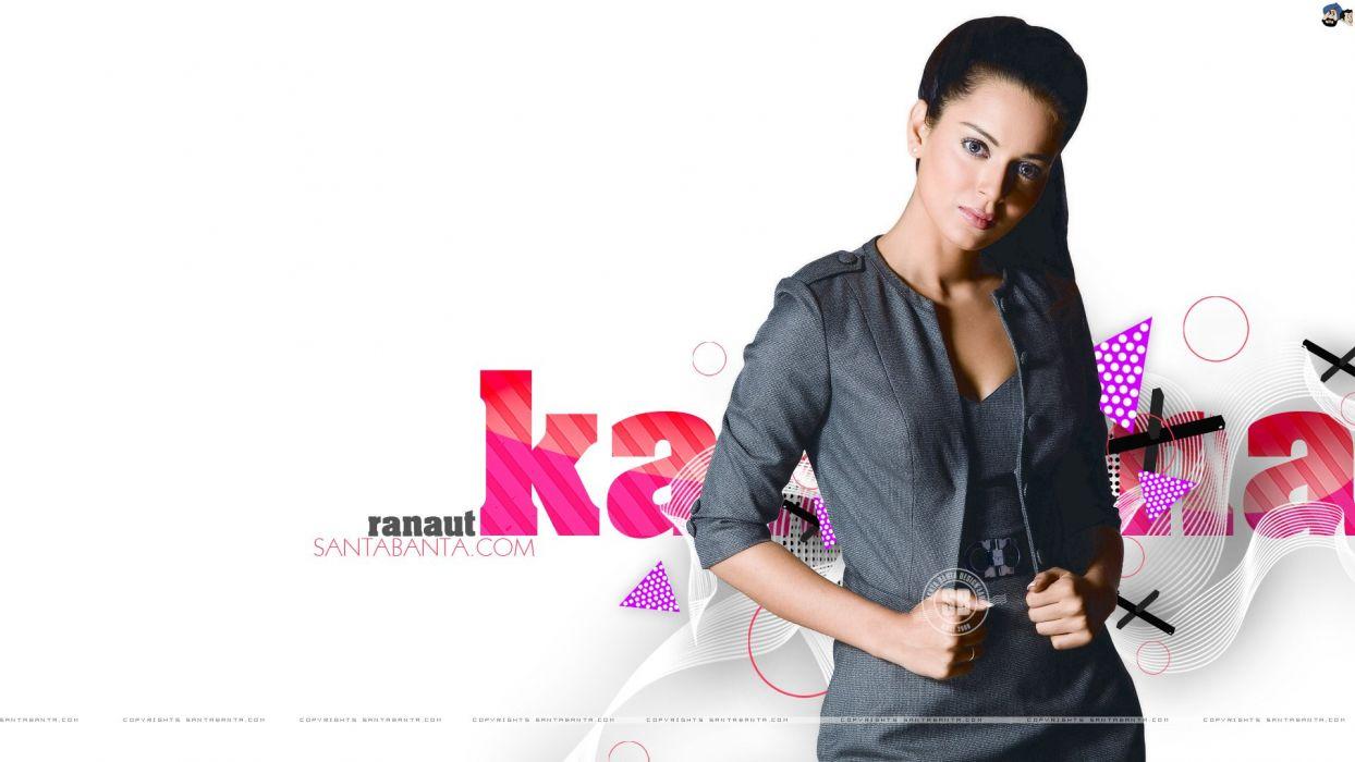 KANGANA RANAUT bollywood actress model babe (27) wallpaper
