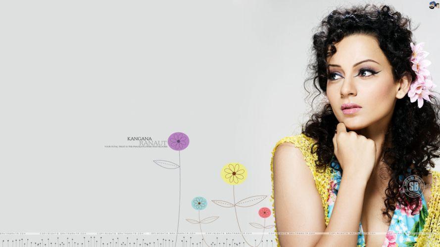 KANGANA RANAUT bollywood actress model babe (61) wallpaper