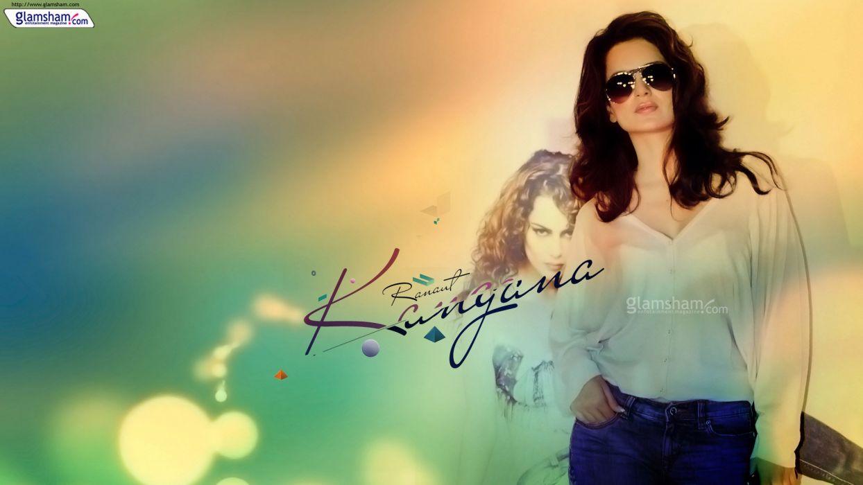 KANGANA RANAUT bollywood actress model babe (70) wallpaper