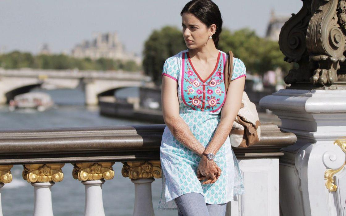 KANGANA RANAUT bollywood actress model babe (72) wallpaper
