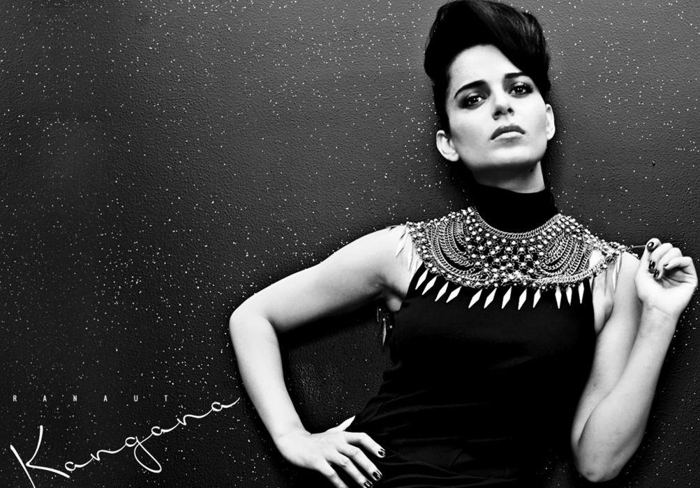 KANGANA RANAUT bollywood actress model babe (93) wallpaper