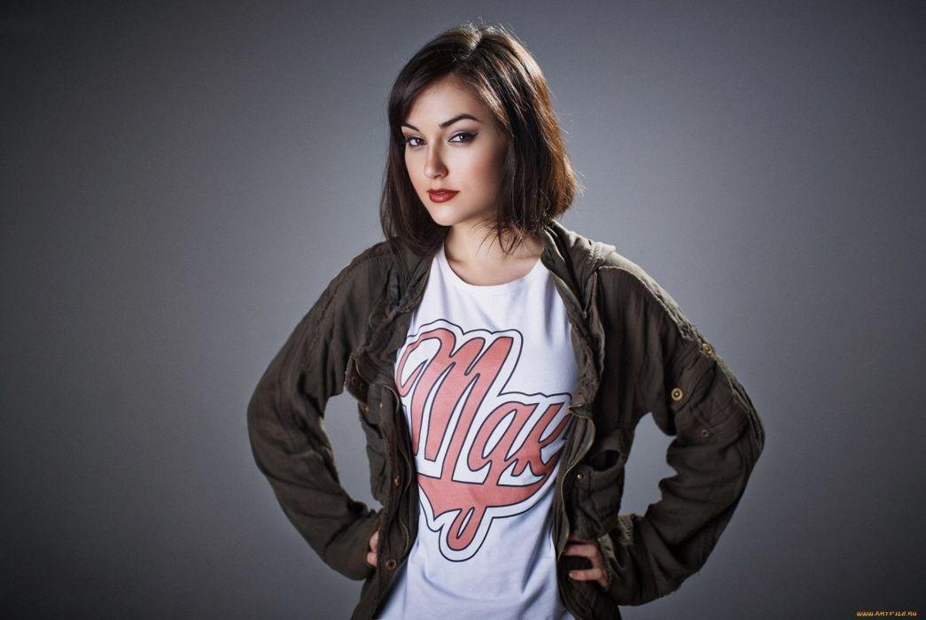SASHA GREY adult model actress sexy babe (45) wallpaper