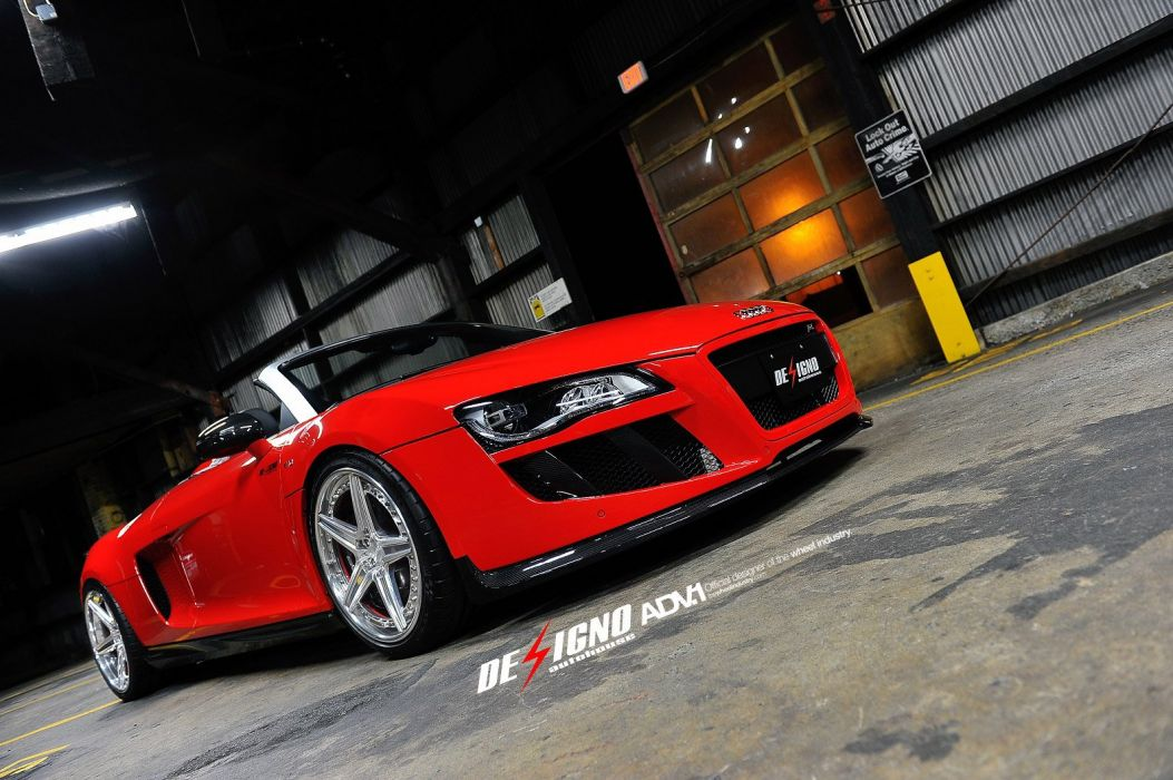 AUDI-R8-SPIDER wallpaper