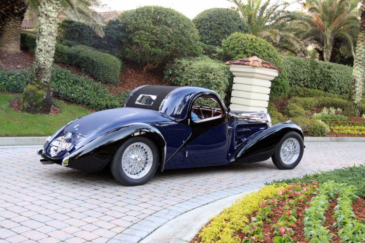 1939 Bugatti Type-57 Atalante Car Vehicle Sport Supercar Sportcar Supersport Classic Retro 1536x1024 (4) wallpaper
