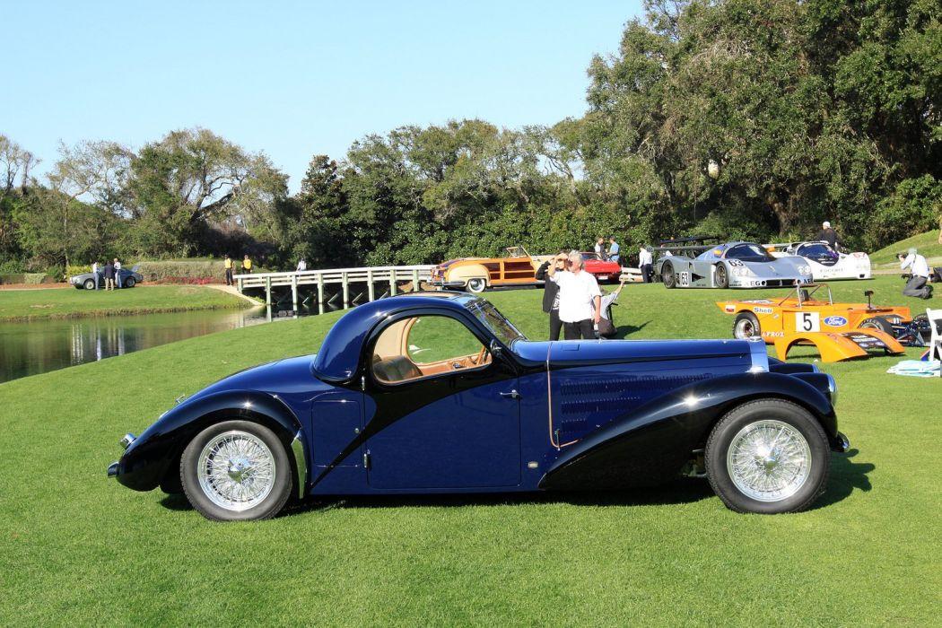 1939 Bugatti Type-57 Atalante Car Vehicle Sport Supercar Sportcar Supersport Classic Retro 1536x1024 (3) wallpaper