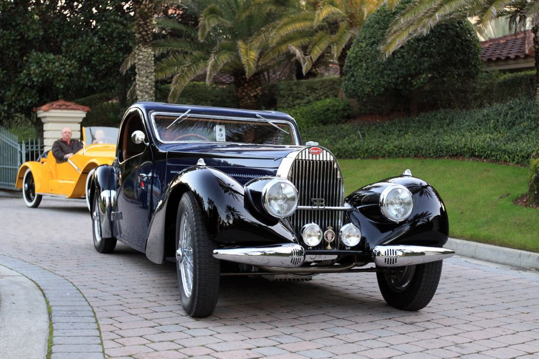 1939 Bugatti Type-57 Atalante Car Vehicle Sport Supercar Sportcar Supersport Classic Retro 1536x1024 (6) wallpaper
