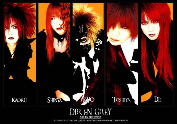 DIR-EN-GREY metal alternative heavy progressive death metalcore hard dir grey jrock visual kei (4) wallpaper