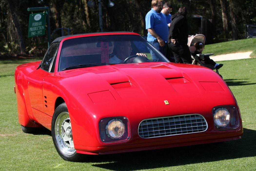 1969 Ferrari Spyder Car Vehicle Sport Supercar Sportcar Supersport Classic Retro Italy Red 1536x1024 (1) wallpaper