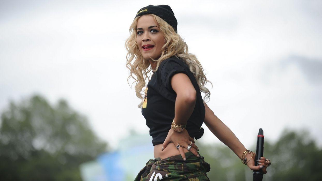 RITA ORA singer actress r-b pop dance rock hip hop babe (23) wallpaper