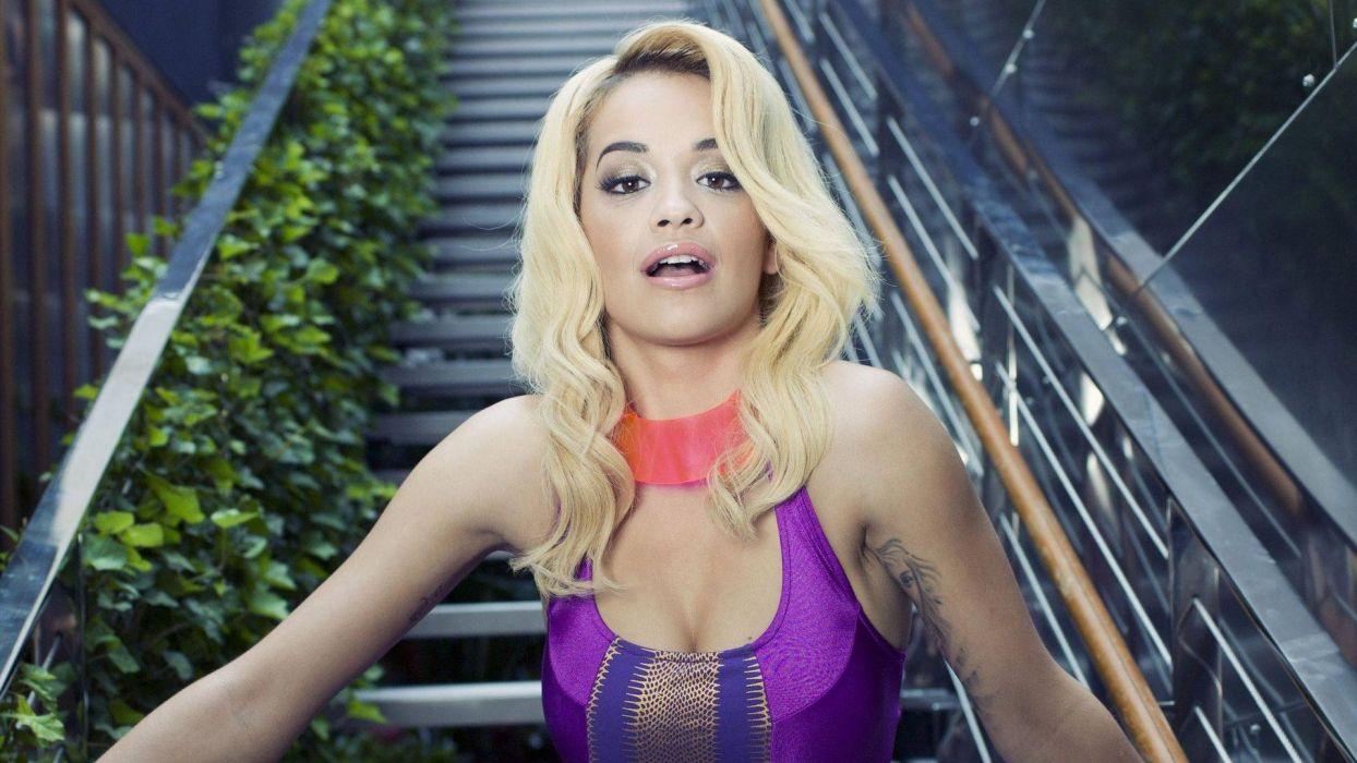 RITA ORA singer actress r-b pop dance rock hip hop babe (56) wallpaper