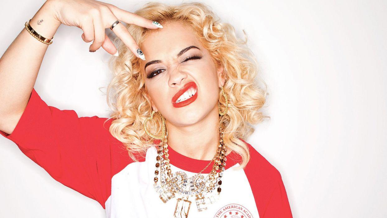 RITA ORA singer actress r-b pop dance rock hip hop babe (62) wallpaper
